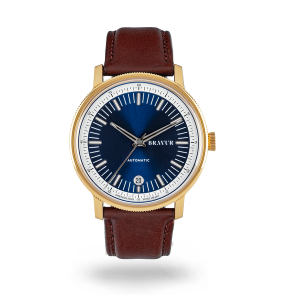 BW003 Gold PVD - Midnight Blue dial