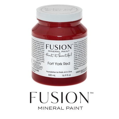 Fork York Red Fusion Mineral Paint