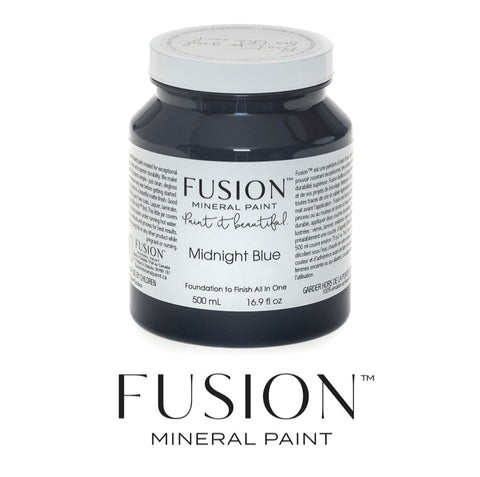 Midnight Blue Fusion Mineral Paint