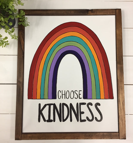 Choose Kindness Sign