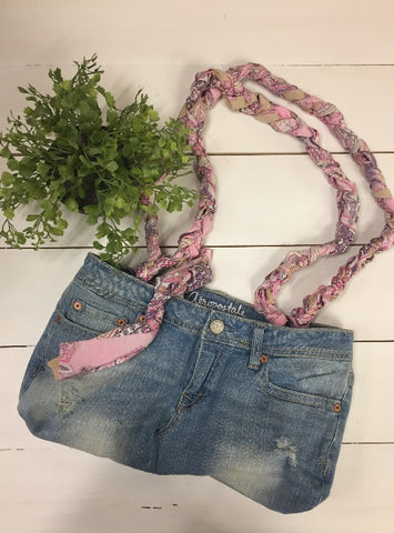 Denim & Pink Paisley