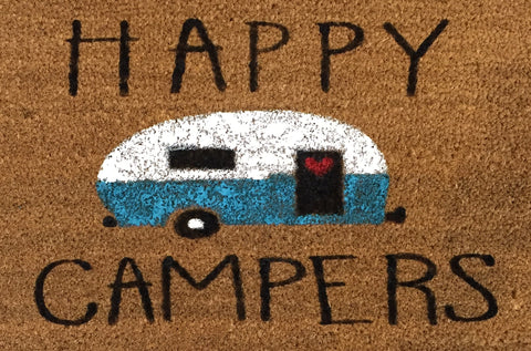 Happy Campers Doormat