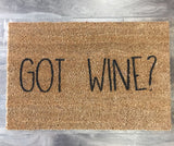 Got Wine? Doormat