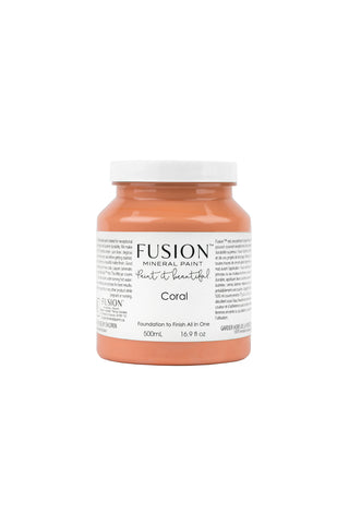 Coral Fusion Mineral Paint