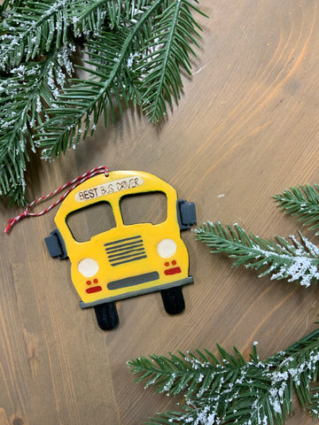 Best bus driver ornament