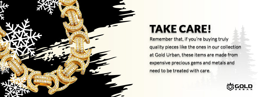 take care of your jewelry graphic