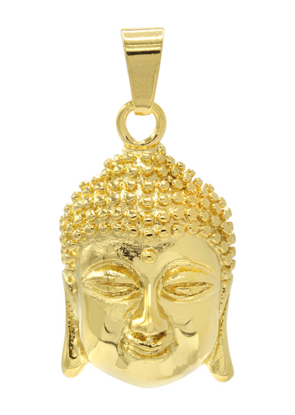Mens Gold Buddha Pendant | 22.8 Grams