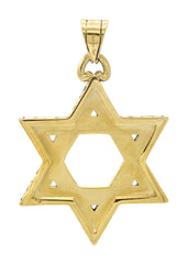 Mens Gold Star of David Pendant | 15 Grams