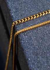 Gold Cuban Chain & Franco Chain 4 MM