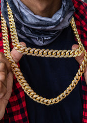 Diamond Miami Cuban Link Bundle (14 MM )