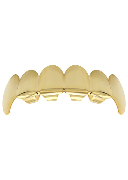Solid Gold Grillz | 3.9 Grams