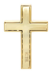 Mens Gold Cross Pendant | 12 Grams