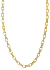 14k Gold Mens Hermes Link Chain