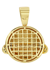 Mens Gold Emoji Pendant | 8.3 Grams