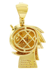 Mens Gold Money Sign Pendant | 10 Grams