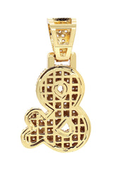 Gold & symbol Pendant | 7.8 Grams