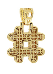 Gold # symbol Pendant | 10 Grams