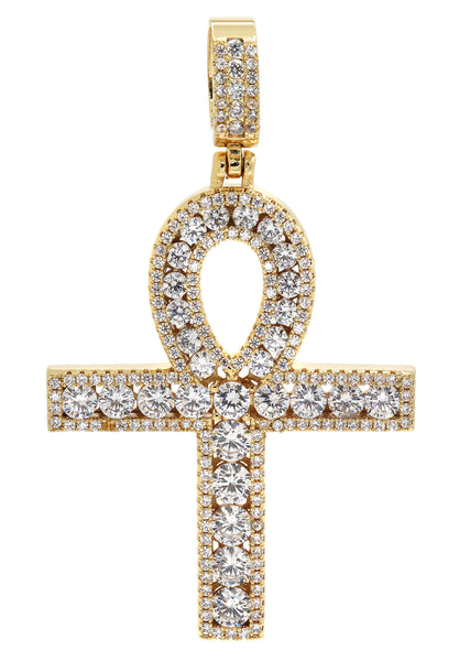 Gold Plated Ankh Pendant | 11.7 Grams