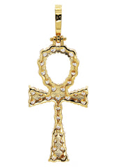 Gold Ankh Pendant | 8 Grams