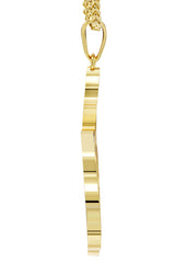 Mens Gold Franco Chain & Allah Pendant | Appx. 14.2 Grams