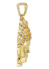Mens Gold Buddha Pendant | 13.6 Grams