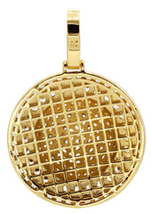 Mens Gold Dog Tag Pendant | 22.3 Grams