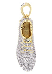 Mens Gold Sneaker Pendant | 22.9 Grams
