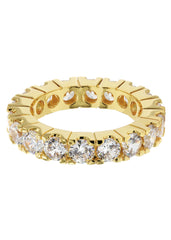 Mens Gold Eternity Ring | 6.3 Grams