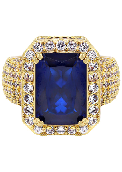 Gold Sapphire Ring | 11 Grams