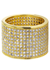 Mens Gold Eternity Ring | 10 Grams