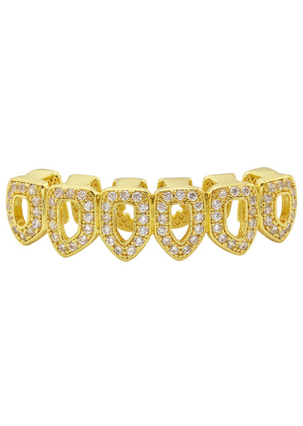 Gold Diamond Grillz | 1.9 Grams
