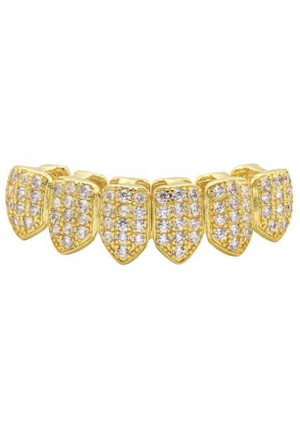 Gold Diamond Grillz | 3.7 Grams