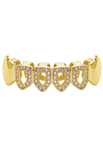 Gold Diamond Grillz | 5 Grams