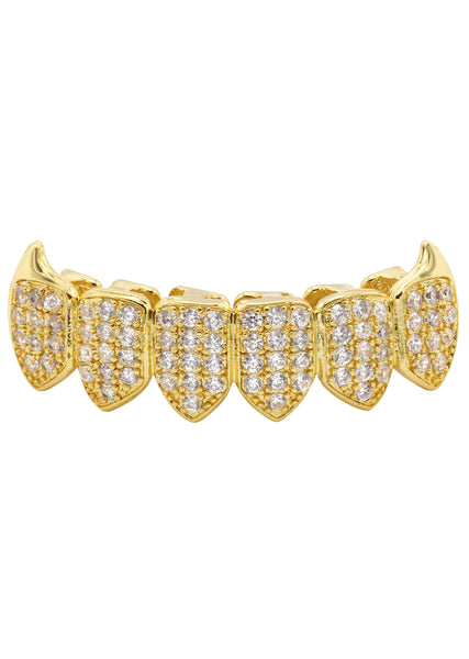 Gold DIamond Grillz | 2 Grams
