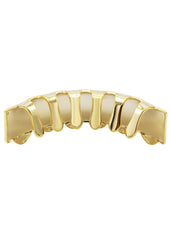 Diamond Cut Gold Grillz | 2.8 Grams