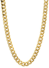 14K Gold Mens Cuban Curb Chain