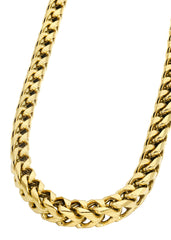 14K Gold Mens Chain Solid Franco