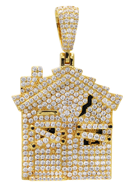 Gold House Pendant | 18.7 Grams