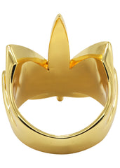 Gold Marihuana Leaf Ring | 14 Grams