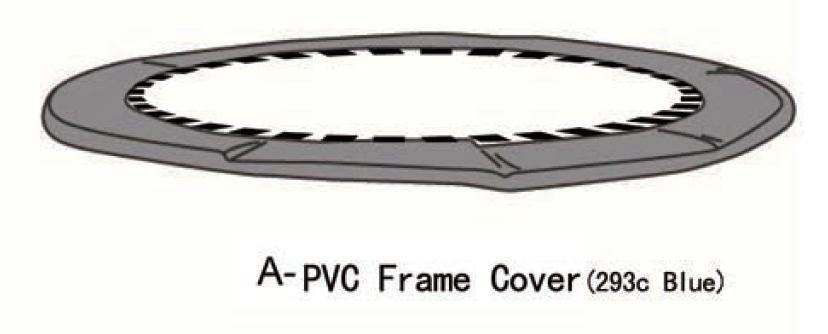Airzone Basic 12' Jump Pad Spring Cover (Part AZ600558)