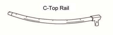 AirZone Basic 15' Top Rail Part C (AZ600778 fits WM00615)