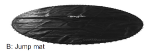Airzone Jump 8' Trampoline Replacement Jump Pad (WM-00408, AZJ-8)
