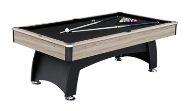 AirZone Play Modern Beechwood 7' Pool Table