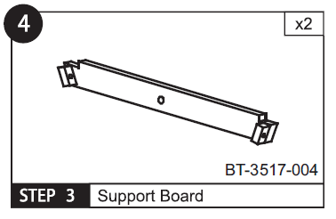 Support Board for BT-3517 (Part 4)