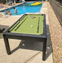 Load image into Gallery viewer, Airzone Play 7' Outdoor Billiard Table w/ Cover
