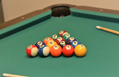 Billiard Ball Set (Standard) for All Full Size Tables