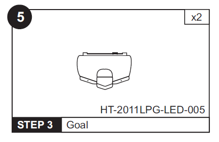 Goal Box for HT-2011LPG LED 48