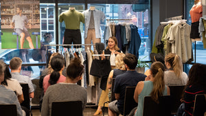 Sustainability Beyond the Shopping Bag Workshop 2 Recap | Creating a Capsule Wardrobe