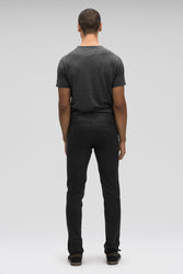 Men's Stretch Motil Organic Cotton Water resistant Pant-Black