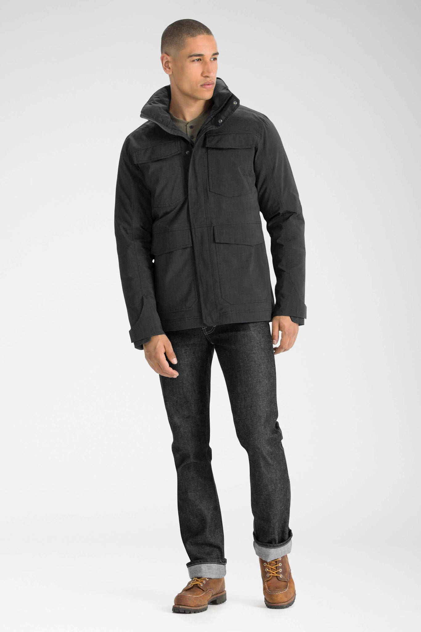 men's sandvik jacket - caviar